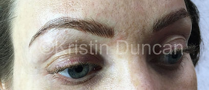 Client #13 - After Eyebrow Microblading