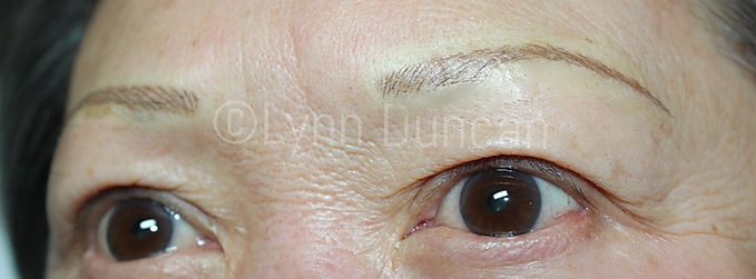Client #13 - After Permanent Makeup Eyebrows #2
