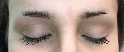 Client #1 - Before Eyebrow Microblading #2