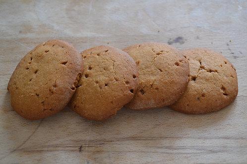 galette caramel beurre salé bio en vrac zéro déchet biscuiterie bio pain de belledonne bio sucre équitable