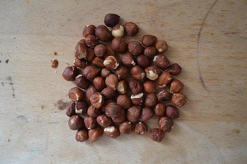 noisette bio en vrac zéro déchet fruits à coque bio décortiquées bio pain bio régime diététique