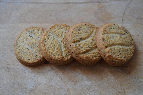 sablés orange bio pavot bio chocolat bio en vrac zéro déchet biscuiterie bio pain de belledonne bio sucre équitable