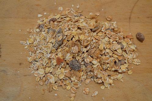 muesli aux fruits bio en vrac zéro déchet avoine seigle bio abricot figue bio tournesol bio noisette bio petit déjeuner bio