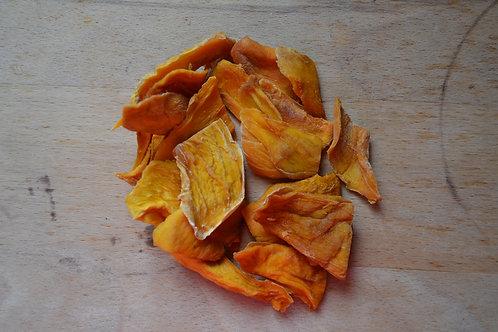 mangues séchées bio en vrac zéro déchet fruits secs bio mangue en lamelle bio origine côte d'ivoire