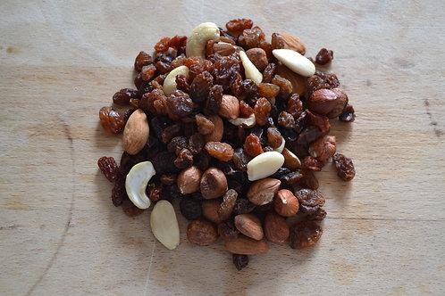 mélange fruits secs bio en vrac zéro déchet raisin sec bio amande bio noix de cajou bio fruit sec bio