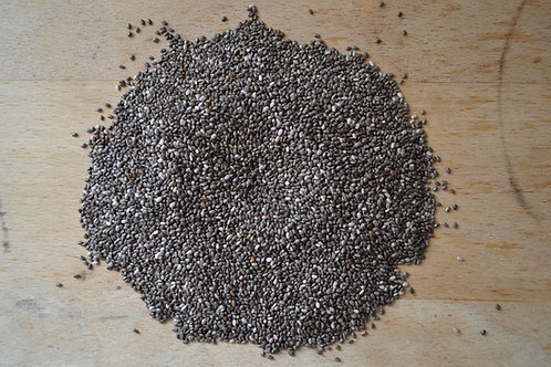 graines de chia bio en vrac zéro déchet graines bio super aliment bio vegan bio régime diététique