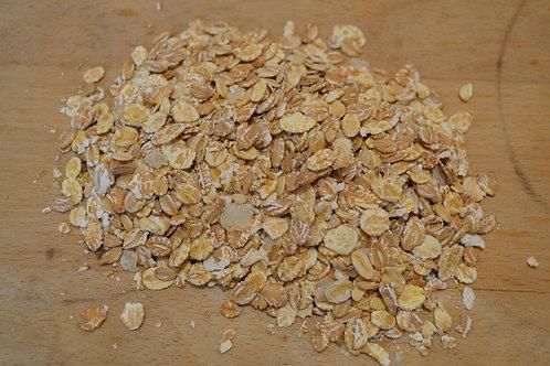 flocons 4 céréales bio en vrac zéro déchet avoine bio seigle bio blé bio orge bio petit déjeuner bio régime diététique