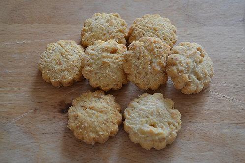 Biscuits salés comté poivre