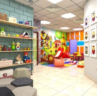 Kids Centre, Playroom Design