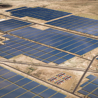 Utility-Scale Solar Energy Facility Mater Plan