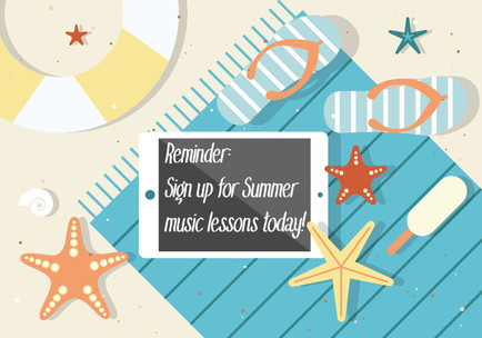 Summer music lessons