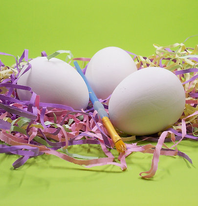 Easter Eggs, Paint your own Bisque kit, Easter Decoration