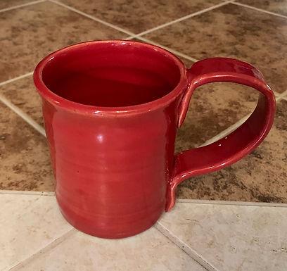 Wheel Thrown Stoneware Mug -Red
