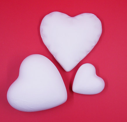 HeartHearts, Set of 3 Paint Your own Decoration, DIY