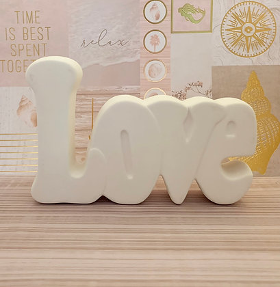Love Ceramic Take N Make Kit, Artist Gift
