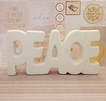 """""""Peace"""" Ceramic Take N Make Kit, Artist Gift"""