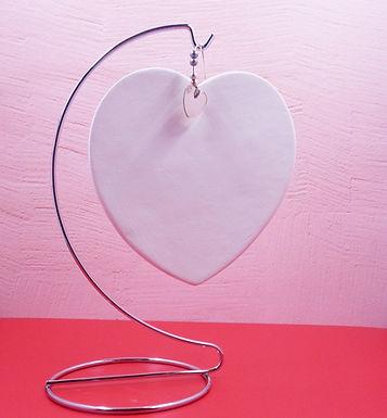 Heart Paint Your own Decoration, Heart  Plaque, DIY