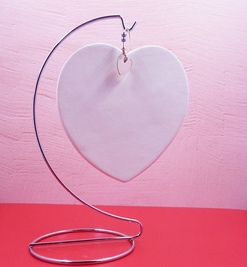 Heart Paint Your own Decoration, Heart  Plaque, DIY
