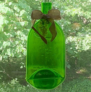 Large - 1.5 Ltr Bordeax Wine Bottle Serving Tray/Wall hanging