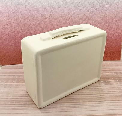 Retro Lunch Box  Bank