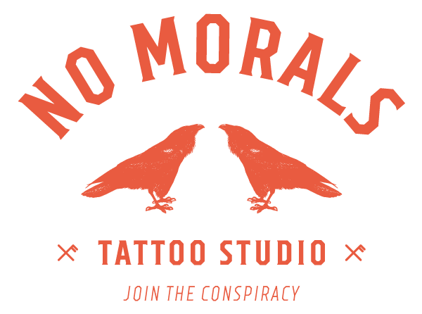 No Morals Tattoos Logo