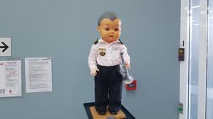 Our mascot Robert