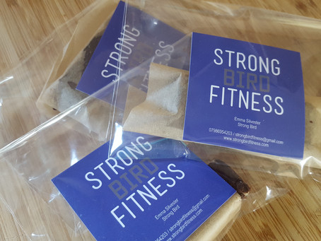 Healthy Snack for STRONG BODY sessions and PT - 25/6 - 28/6