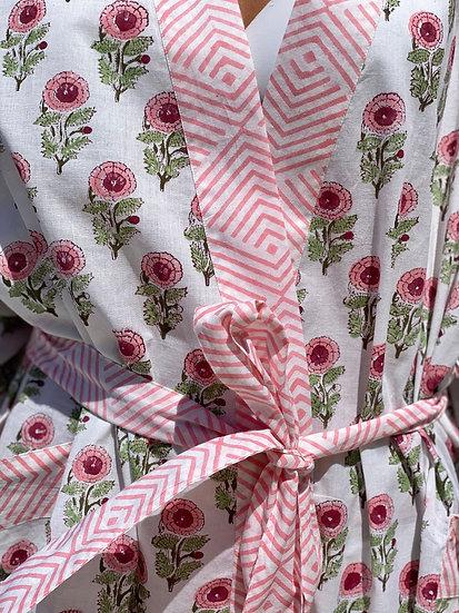 Pink Priya Kimono Robe