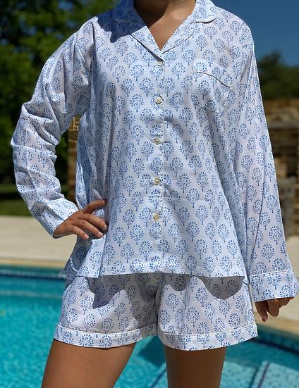 Blue Sprig Short Pyjamas