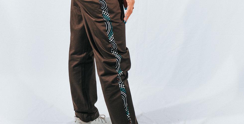 Green Classic Pants