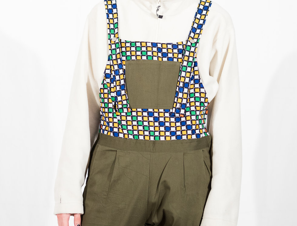 Rubric Dungarees- Green
