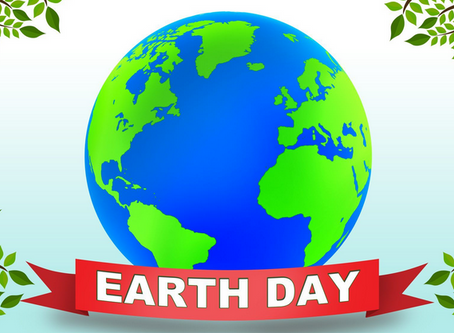 Morgen ist Earth Day!