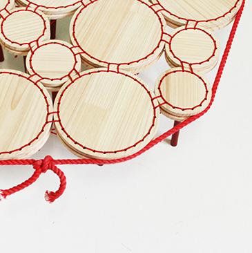 wood x rope