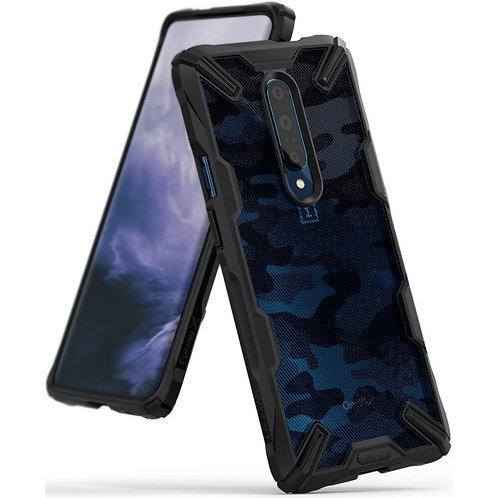 Чехол Ringke Fusion X Design для OnePlus 7 Pro Camo Black