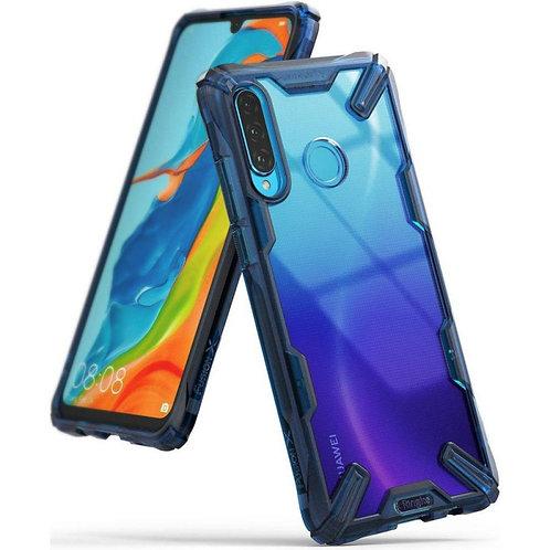 Ringke Fusion X для Huawei P30 Lite SPACE BLUE