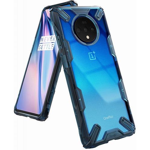 Чехол Ringke Fusion X для OnePlus 7T SPACE BLUE