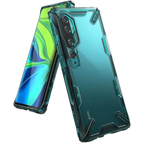 Чехол Ringke Fusion X для Xiaomi MI NOTE 10/NOTE 10 Pro 2019 TURQUOISE GREEN