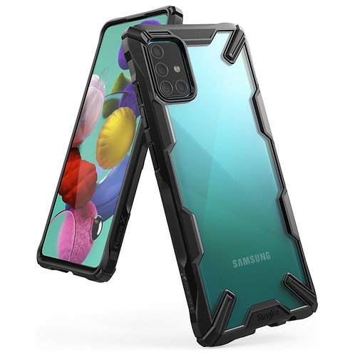 Чехол Ringke Fusion X для Samsung Galaxy A51 2019 Black