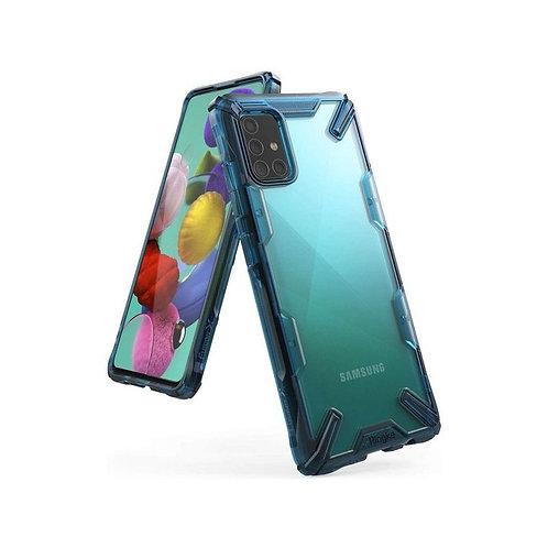 Чехол Ringke Fusion X для Samsung Galaxy A71 2019 Spacle Blue