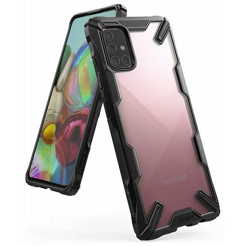 Чехол Ringke Fusion X для Samsung Galaxy A71 2019 Black