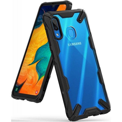 Чехол Ringke Fusion X для Samsung Galaxy A30 Black