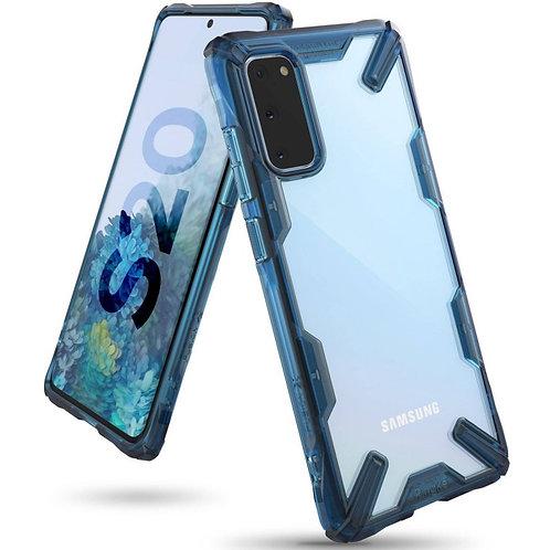 Чехол Ringke Fusion X для Samsung Galaxy S20 Spacle Blue
