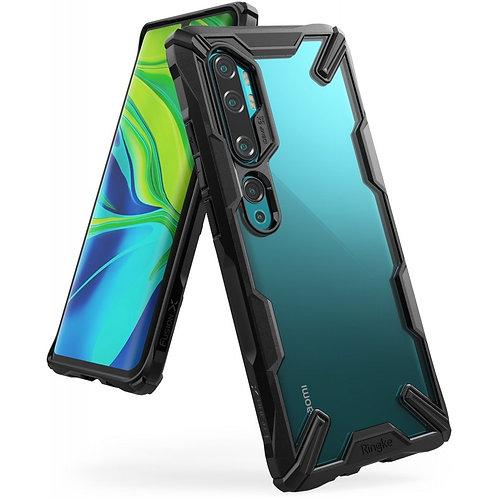 Чехол Ringke Fusion X для Xiaomi MI NOTE 10/NOTE 10 Pro 2019 Black