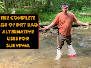 The Complete List of Dry Bag Alternative Survival Uses