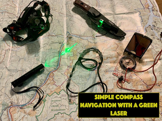 Simple Compass Navigation Hack With Green Laser