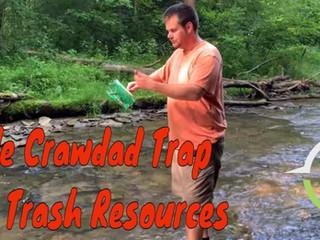 Simple Survival Crawdad Trap from Trash