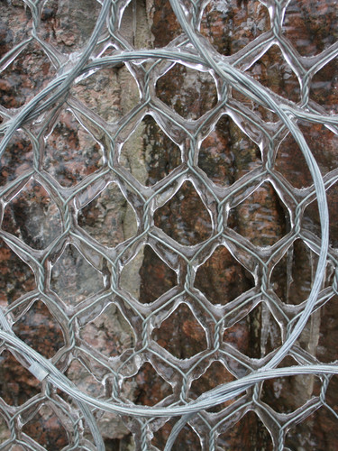 Кольчужная сеть 7 витков 4 контакта