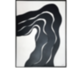 Black and White Wood Wall Art Wind Blown