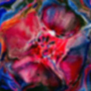 Kaleidoscope. Bright Abstract Painting
