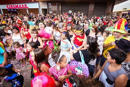 baile e carnaval infantil em condominio